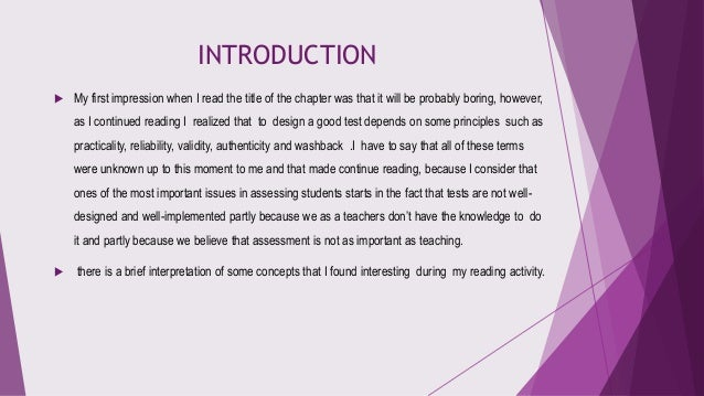 Principles of language assessment Slide 2