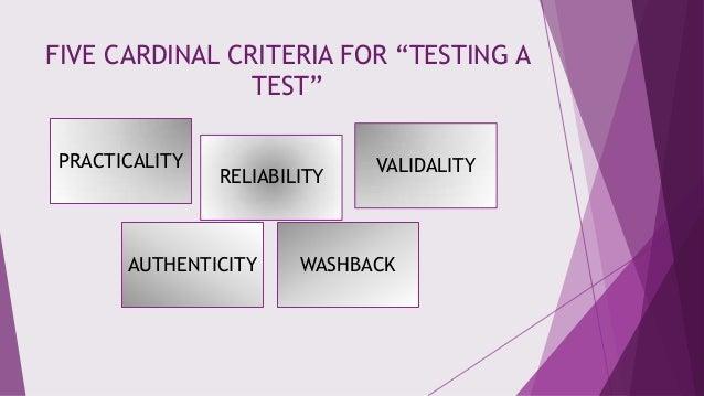 Principles of language assessment Slide 3