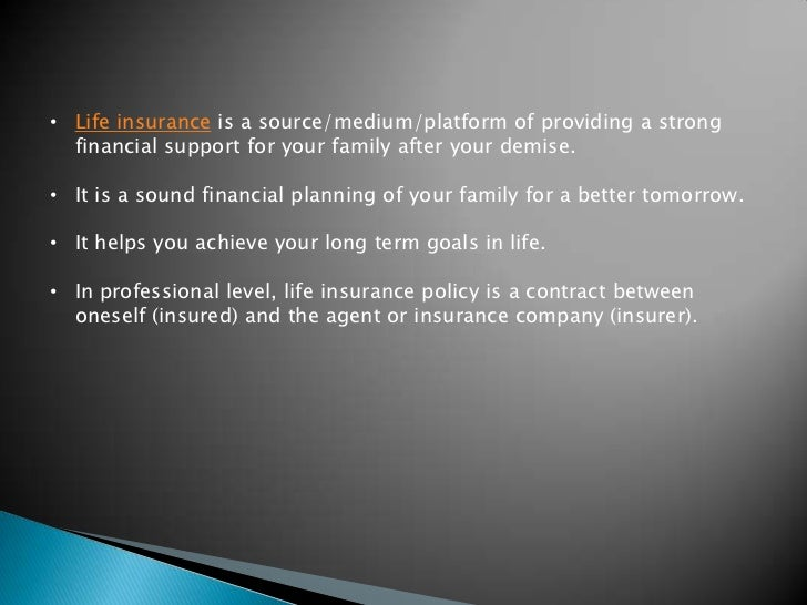 Basic Principles of Life Insurance Policy in India