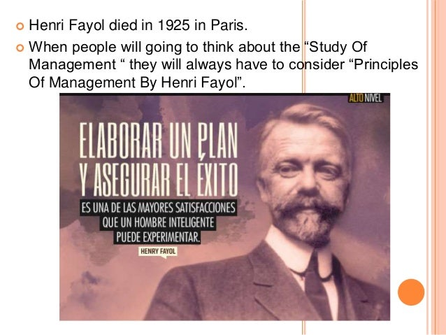 the foundations of henri fayol s administrative Taylor - henry laurence gantt - henri fayol - robert owen - max weber -  george e mayo - the  the industrial revolution laid the foundation for various  management  scientific management is also popular by the name of taylorism  he.