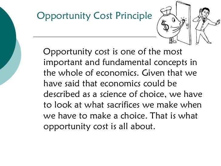 OPPORTUNITY COST IN ECONOMICS PDF