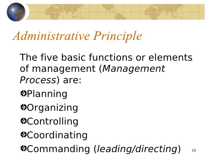 principles of mangement Management models and theories associated with motivation, leadership and change management, and their application to practical situations and problems this section many of these principles have been absorbed into modern day organisations, but they were not designed to cope with conditions of rapid change.