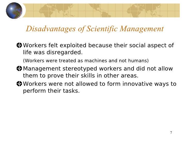 The Principles of Scientific Management Essay