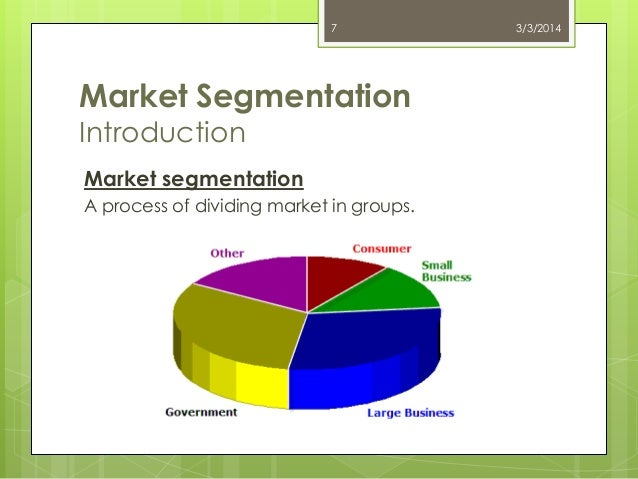 principles of market segmentation pdf