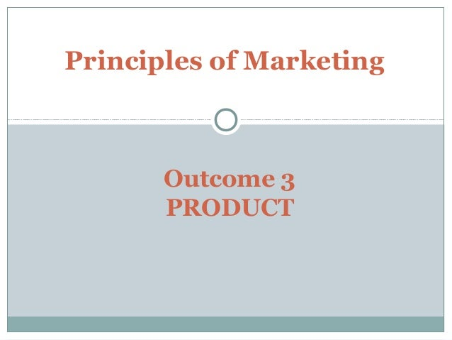 marketing outcome 1 Marketing learning outcomes (chapter 12) marketing channels & supply chain management chapter 12 a concise review of the concepts presented in.