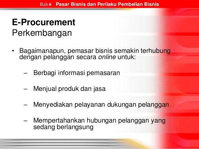 Pasar Bisnis dan Perilaku Pembelian Bisnis - Bab 6 Prinsip ...