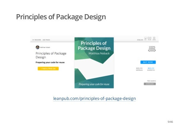 9 Principles Of Design : Principles of package design fosdem