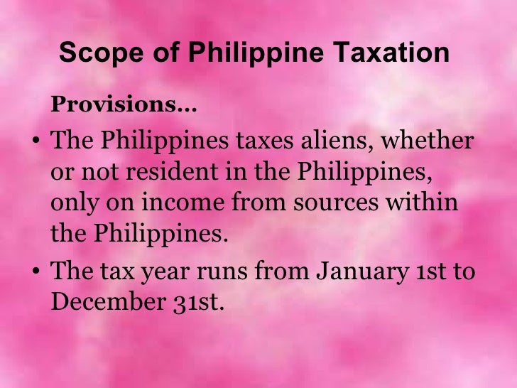 principles of taxation notes pdf