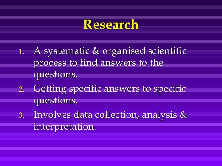 Research Methodology - Study Designs Slide 2