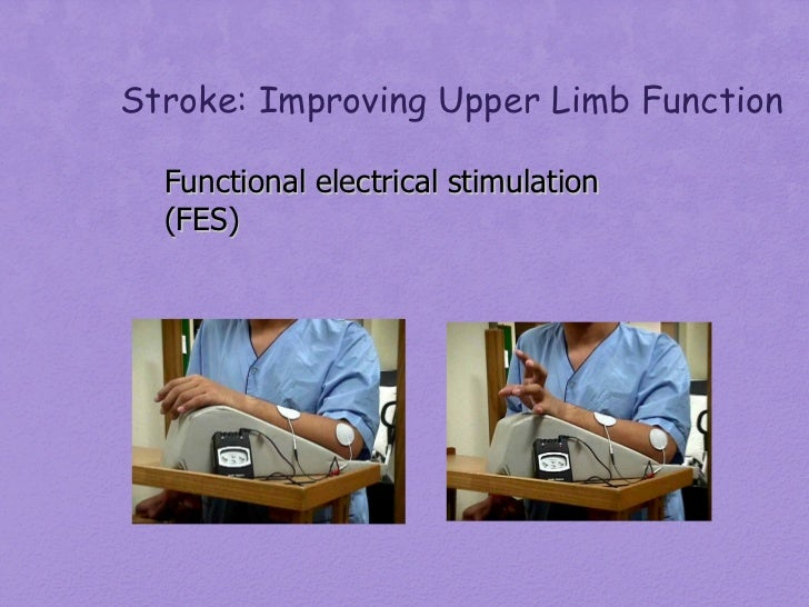 Principles Of Stroke Rehab