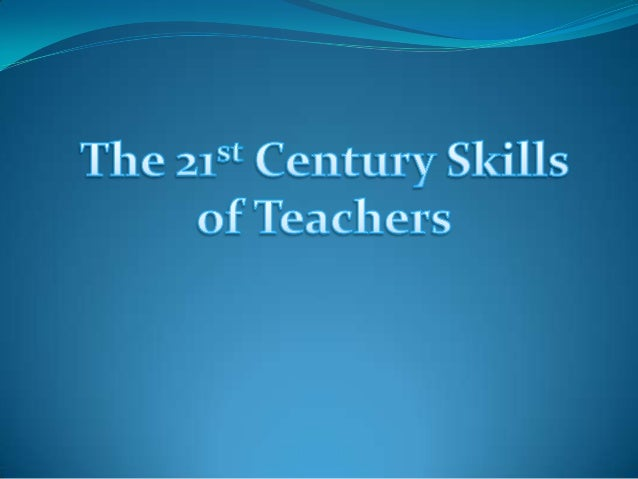The 21st century teachers perform various roles which are very different from the traditional or classic educator