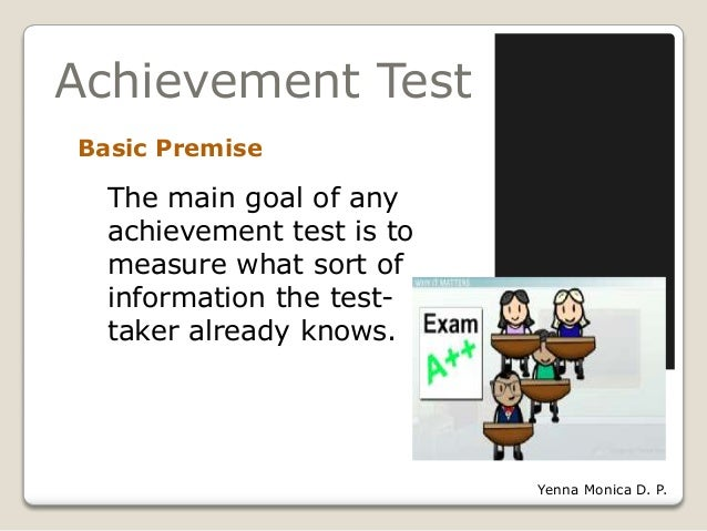 Principles of test construction 1 training achievement test 9 malvernweather Choice Image