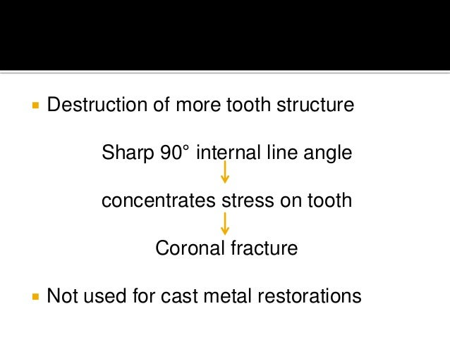 Principles of tooth preparation in Fixed Partial Dentures
