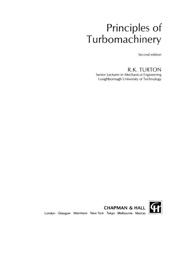principles of turbomachinery rh slideshare net Turbomachinery Rocket Siemens Demag Delaval Turbomachinery Inc