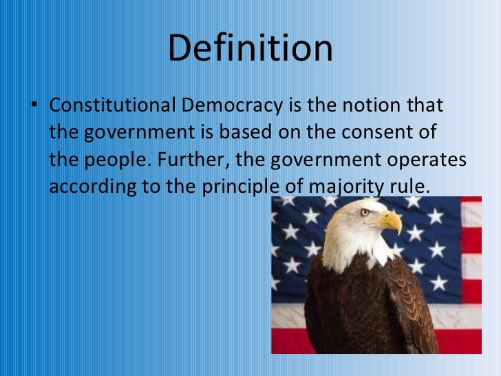 elements of democracy and constitutionalism essay In this lesson we will learn about the concept of constitutionalism we will define the term, explore the concept, and examine how this view.