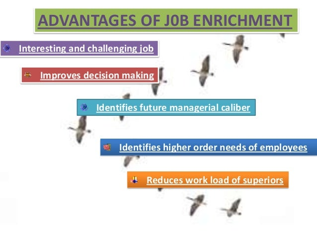 job enrichment and job enlargement Job enlargement vs job enrichment the difference between job enrichment and  job enlargement is quality and quantity job enrichment.