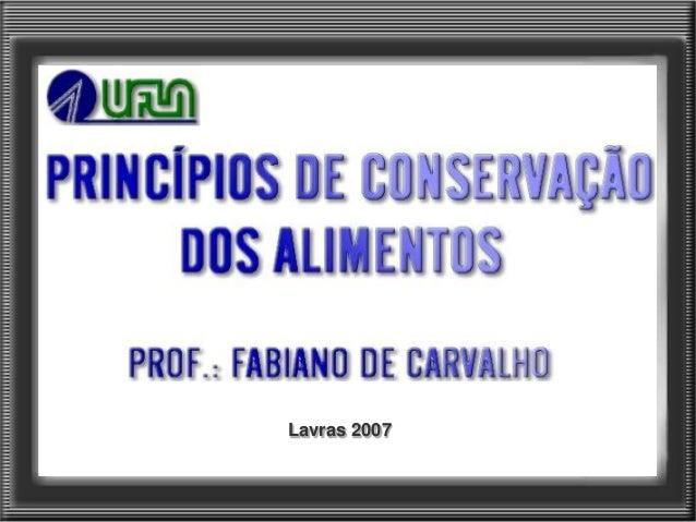 Lavras 2007