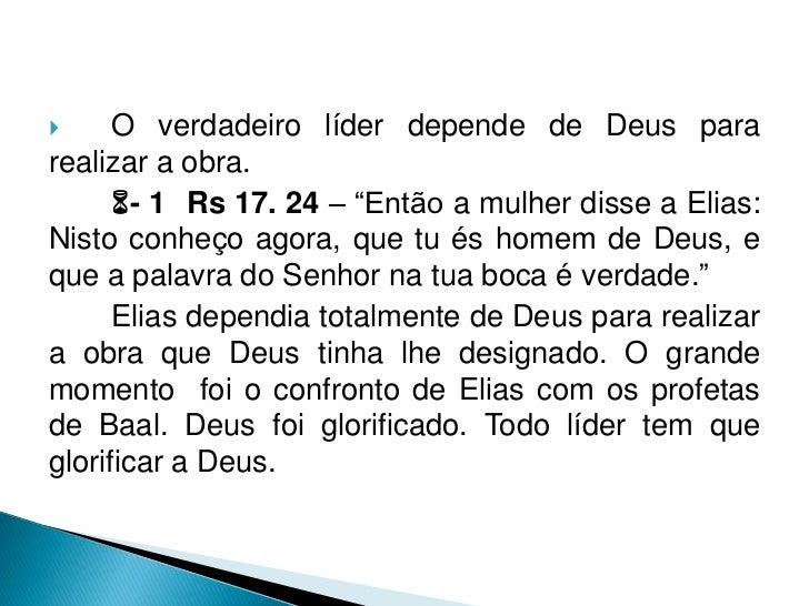 """- 1 Rs 18. 36-40 – """"No devido tempo para seapresentar a oferta de manjares, aproximou-se o profetaElias, e disse: Ó Senho..."""