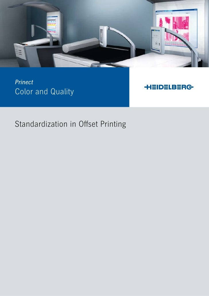 PrinectColor and QualityStandardization in Offset Printing