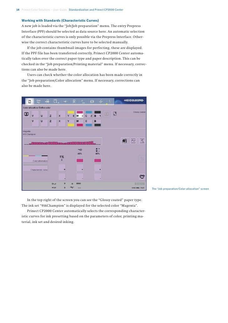 sistema heidelberg prinect rh slideshare net