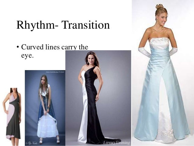Fashion prinicipals of design for Rhythm by transition