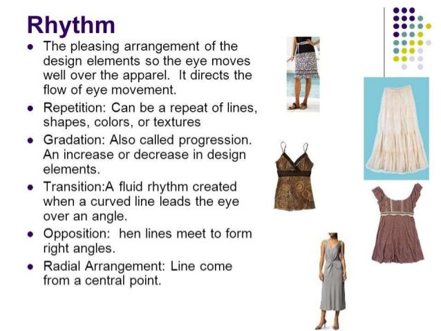 Elements Of Design In Clothing : Fashion prinicipals of design