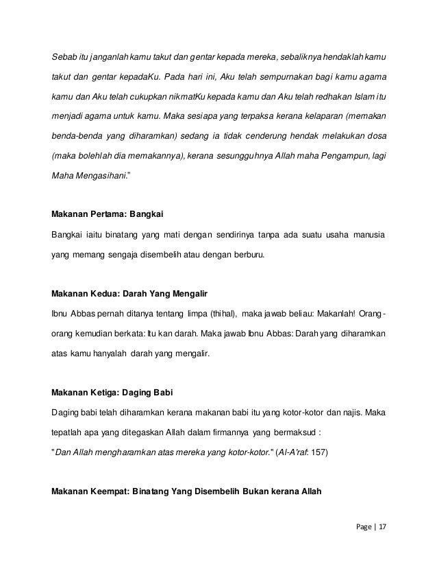 Prinsip Prinsip Halal Dan Haram