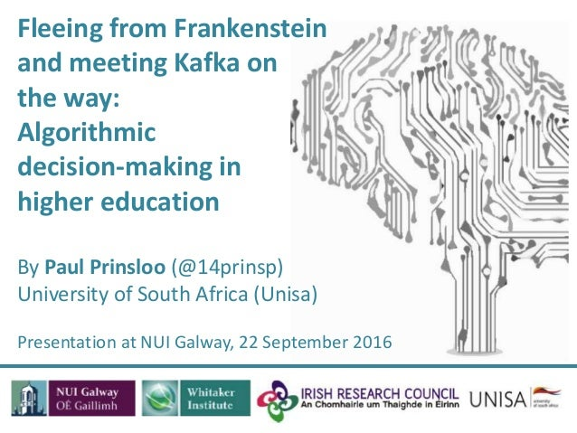 fleeing from frankenstein and meeting kafka on the way algorithmic rh slideshare net