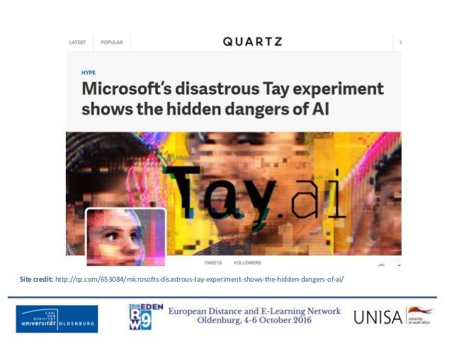 Imagecredit:https://www.flickr.com/photos/haydnseek/2534088367 Site credit: http://qz.com/653084/microsofts-disastrous-tay...