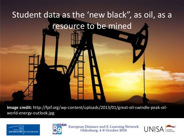 """Imagecredit:https://www.flickr.com/photos/haydnseek/2534088367 Student data as the 'new black"""", as oil, as a resource to b..."""