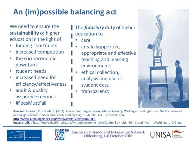Imagecredit:https://www.flickr.com/photos/haydnseek/2534088367 An (im)possible balancing act We need to ensure the sustain...