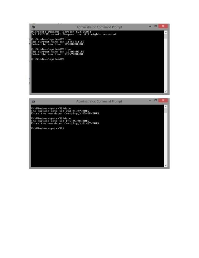 rm.  -1 r : ~'f'. Il>«  Microsoft Windows [Uersion 6.3.9688] (c) 2813 Microsoft Corporation.  H11 rights reserved.   L C: ...