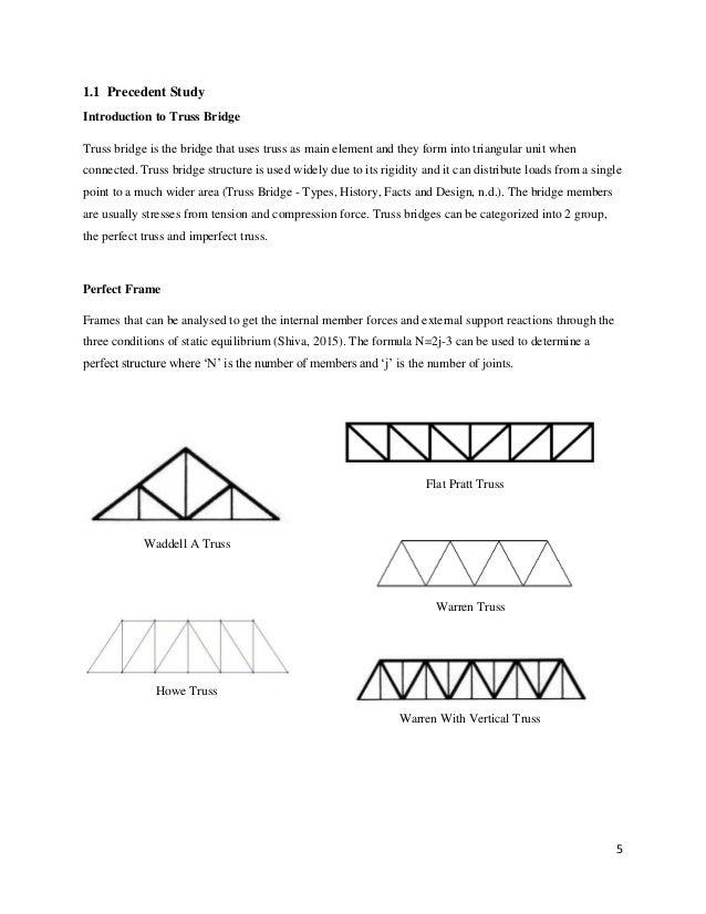 Fettucine Truss Bridge Report