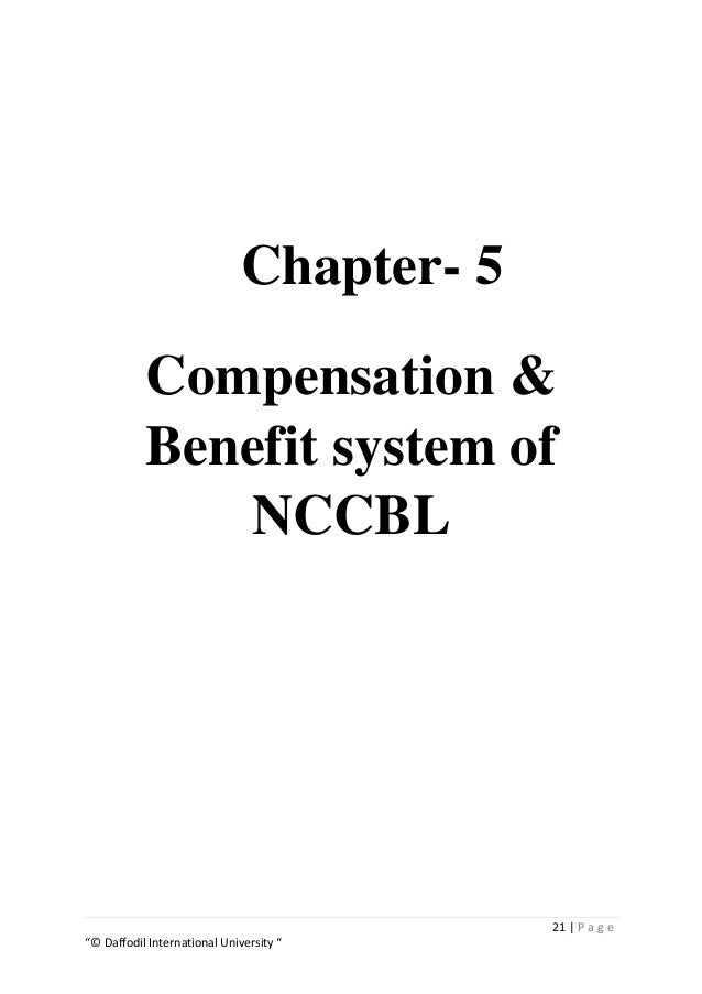 HRM Practice in NCC Bank Limited