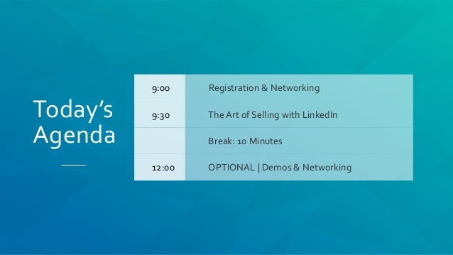 The Art of Selling with LinkedIn Slide 2