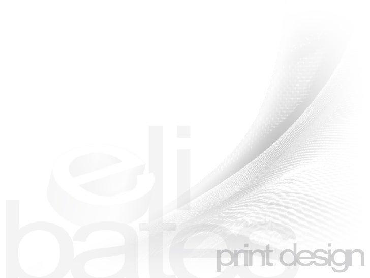 print design Slide 1