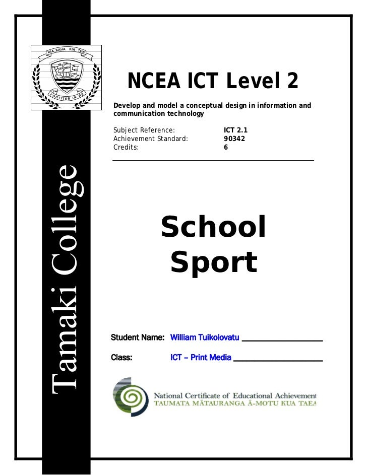 School Sport Portfolio