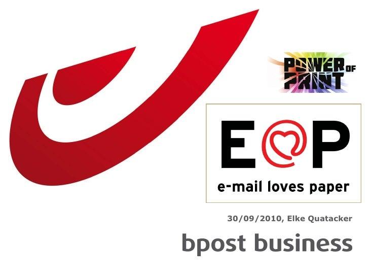 Power of print 'E loves p'