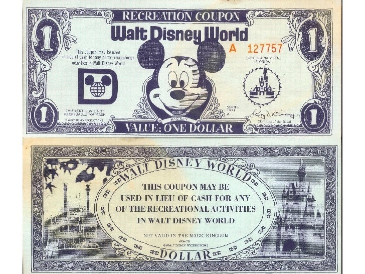 photograph relating to Disney Dollars Printable identified as Printable Cartoon Engage in Cash Income