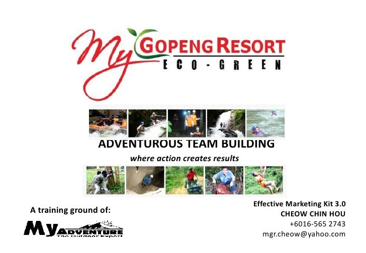 ADVENTUROUS TEAM BUILDING                        where action creates results                                             ...