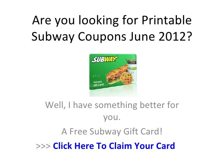 graphic about Printable Subway Coupons titled Printable Subway Coupon codes June 2012