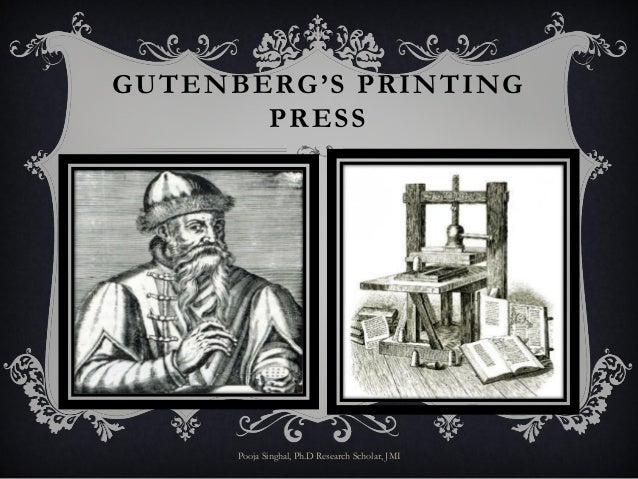 The Printing Press And Cultural Had Many Political Impacts First Of All