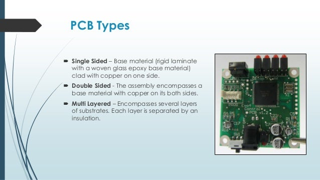 printed circuit board basics rh slideshare net printed circuit board substrate Printed Wiring Board Manufacturing