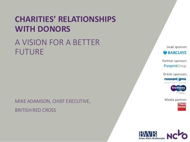 how to build relationships with donors