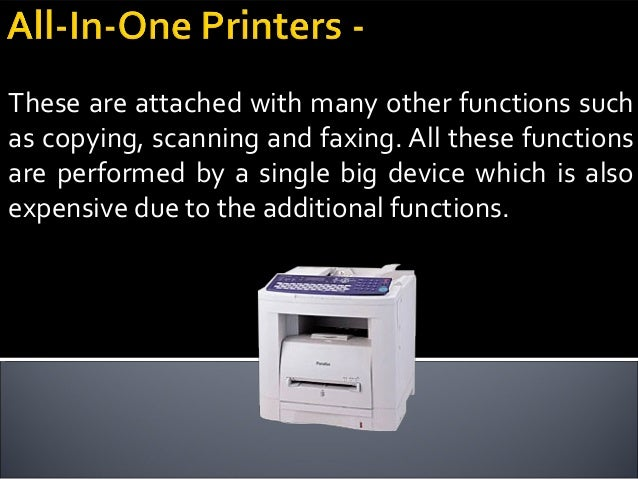 These printers are exclusively used for printing photos and are quite small in size. These are generally used to print out...