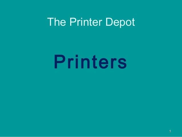 11PrintersThe Printer Depot
