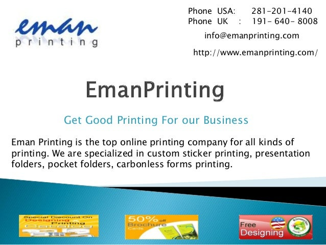 Printing Discount Stickers