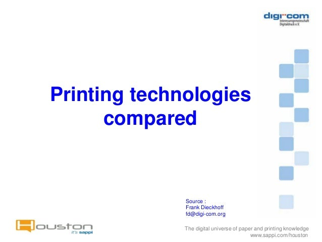 a comparison of print and technology in media The difference between print media and electronic media is that print media is media that is viewed through print resources such as newspapers, magazines and flyers.