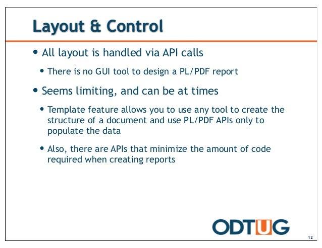 Printing with APEX: PL/PDF