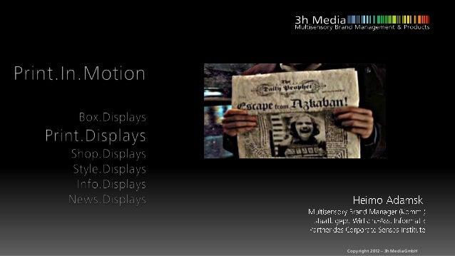 Copyright 2012 – 3h Media GmbH